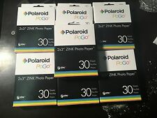 210 Polaroid Zink PoGo Photo Paper 2X3 Fit Z2300 PoGo SNAP & Zip Printer Sheets