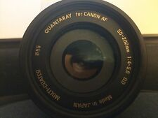 Quantaray 55-200mm F/4-5.6 AF LD Macro Lens for Canon Mount