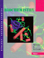 Biochemistry : Biology: Advanced Studies, Cordell, Bob Spiral bound Book