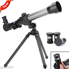 Astronomical Telescope With Tripod Stargazing Educational Kids Children Toy Gift
