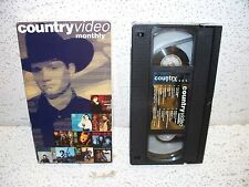 Country Video Monthly VHS Video Diamond Rio Suzy Bogguss Carlene Carter