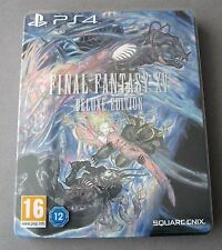 PS4 Final Fantasy XV  Deluxe Edition Steelbook Slipcover Sony PlayStation 4 FF15