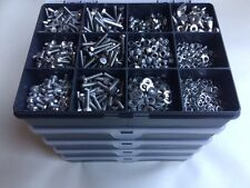 Stainless Steel Nuts and Bolts Washers Screws Assorted M4 Kit A2-304 box 2040pcs