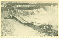 Niagara Falls, ON Collaspe of the Falls View Bridge January 27 1938