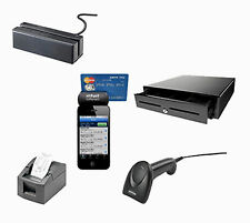 Intuit POS hardware bunble Receipt printer barcode scanner cash drawer CC reader
