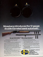 1990 MOSSBERG Model 5500 MKII 12 gauge Double Barrel Semi-auto SHOTGUN AD
