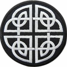 Celtic Knot Irish Magic Occult Goth Daemon Wicca Devil Iron-On Patches #0941