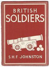 Britain In Pictures British Soldiers S H F Johnston William Collins 1944 Good