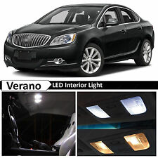 16x White Interior LED Lights Package for 2012-2016 Buick Verano