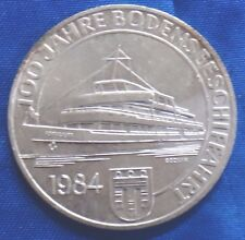1984 Austria 500 Schilling Silver Coin 100th Anniversary - Commercial Shipping