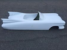 1959 Cadillac limited edition hot rod stroller pedal car fiberglass body 1960