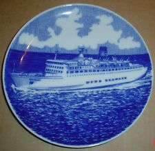 Collectors Plate DFDS SEAWAYS Ship