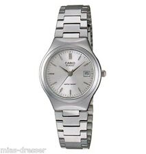 Casio LTP1170A-7A Ladies Stainless Steel Blue White Casual Dress Watch NEW