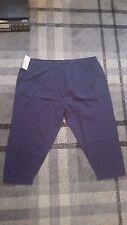 LADIES PJAMA/LOUNGE PANTS BLUE SHORT LEG DESIGN SIZE 24/26