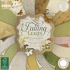 """16 Sheets 6x6"""" First Edition Falling Leaves"""