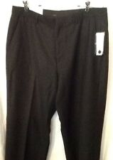Mens Calvin Klein Dress Pants Black Pinstripes Size 34 X 32
