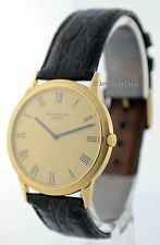 Patek Philippe Vintage Calatrava Automatic 18k Yellow Gold Mens Watch 3591J