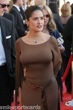 "SALMA HAYEK sexy busty 4x6 glossy photo ~ actress candid #6 ""poking out!"""