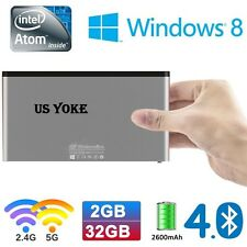 WindowsBox Intel Mini Smart PC Stick Atom BayTrail Memory 2G EMMC 32G BT 4.0 WF