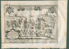 THEORA, Avellino - Campania. Dall'opera di G.B. Pacichelli, anno 1703.