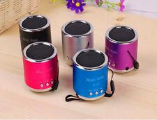 Fashion Wireless Portable Mini Speaker FM Radio USB Micro SD TF Card MP3 Player