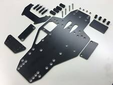 2 Litre Stock Car Racing Saloon Brushed Chassis BLACK GRP 2.4 Kamtec V12 £18.99