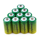 10X 16340 Rechargeable Battery CR123A  LR123A  3.7V Li-Ion 1800mAh Power USA