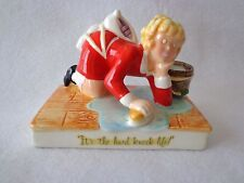"""VINTAGE LITTLE ORPHAN ANNIE FIGURINE """"It's the hard knock life"""" BY APPLAUSE-1982"""