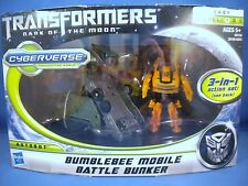 Transformers DOTM Cyberverse - Bumblebee Mobile Battle Bunker - NEW