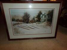 "ROBERT NICKLE ""AFTER THE STORM"" ORG. PRINT DOUBLE SIGNED LMT. 62/500 PA. ARTIST"