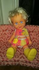 "1990 GALOOB BABY FACE DOLL #8 ""So Delightful Dee Dee"" Original Outfit"
