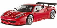HOT WHEELS ELITE 1/18 FERRARI 458 ITALIA GT2 RED LAUNCH VERSION LTD. ED. X2860