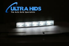 WHITE 5 LED DRL Daytime Running Light Kit HIGH QUALITY strips golf mk5 r32 tdi