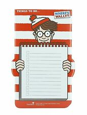 WHERES WALLY PAPER DESK PAD TO DO LIST WALDO