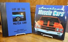 2 Bk Lot: American Muscle Cars & Art of the Muscle Car Motorbook Classic Vehicle
