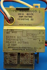 Honeywell R841A Electric Heating Relay With Transformer 120V to a 24V Thermostat
