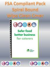 Safer Food Better Business for Caterers (SFBB) - FSA Compliant Pack