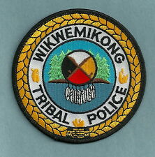 WIKWEMIKONG CANADA TRIBAL POLICE PATCH