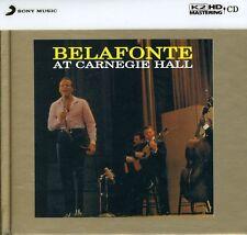 At Carnegie Hall: K2hd Mastering - Harry Belafonte (2011, CD NEU)