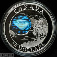 2005 Canada $20 silver coin  NW Territories Diamonds