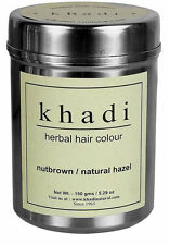 Khadi Herbal Nut Brown Henna-Natural Hazel Henna Amla Tulsi Neem 150 grams