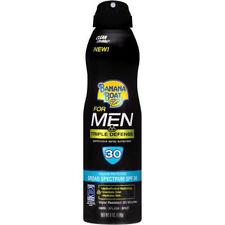 Banana Boat for Men Triple Defense Continous Sunscreen Spray SPF 30, 6 Ounce