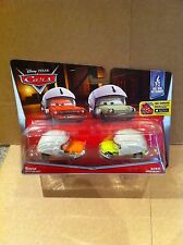 DISNEY CARS DIECAST - Grem and Acer with Helmet - New  - Combined Postage