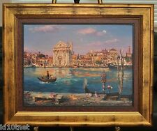 Cao Yong - Across the Canal - H/E COA, Framed, Hand Embellished  & Custom Frame!