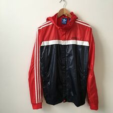 Adidas Marathon Hooded Jacket / Retro / M / Lightweight / Windbreaker / Bnwt