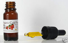 Certified Organic Cold Pressed Rosehip Facial Oil 10ml Pipette Bottle