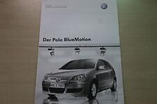 171627) VW Polo 9N - BlueMotion - Preise & Extras - Prospekt 06/2007