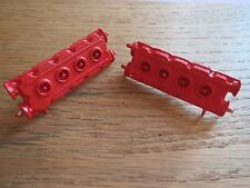 Pocher 1/8 Ferrari F40 Red Textured Metal Engine Cam Covers Heads