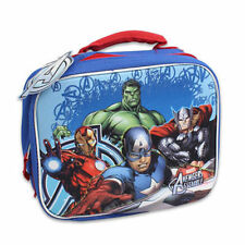 Lunch Bag Insulated Pop Out 3D Avengers Hulk Thor Iron Man Captain America New