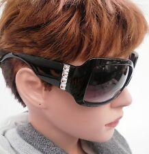Lunettes de soleil pour Femmes en Noir Teinte gris violet (39)